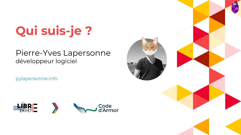 Pierre-Yves Lapersonne développeur logiciel pyl...