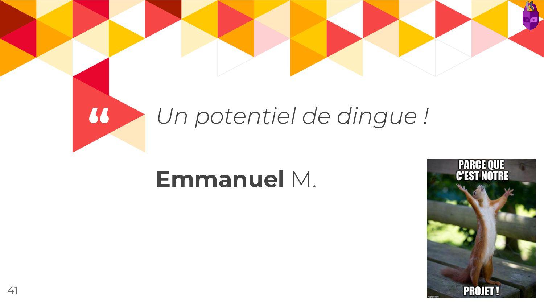 """"""" Emmanuel 41"""