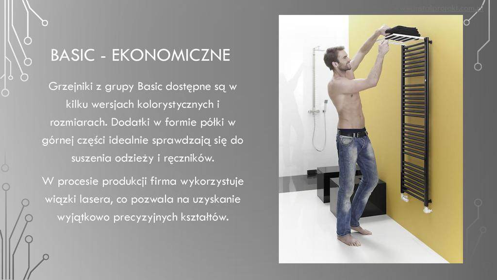 BASIC - EKONOMICZNE Grzejniki z grupy Basic dos...