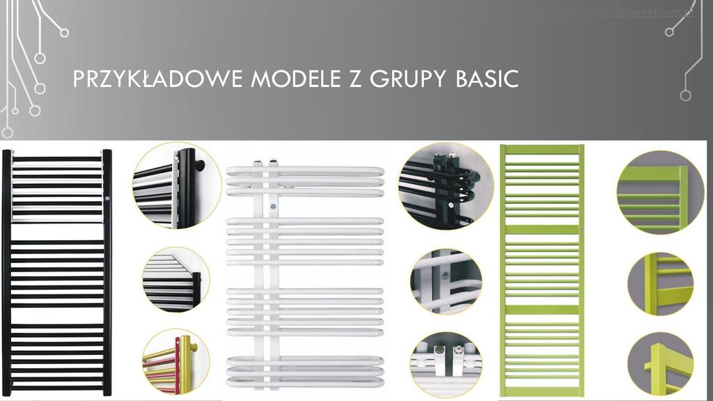 PRZYKŁADOWE MODELE Z GRUPY BASIC http://www.ins...