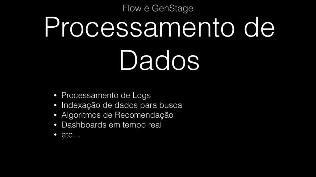 Processamento de Dados Flow e GenStage • Proces...