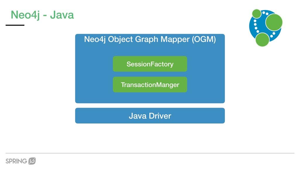 Neo4j - Java Java Driver Neo4j Object Graph Map...