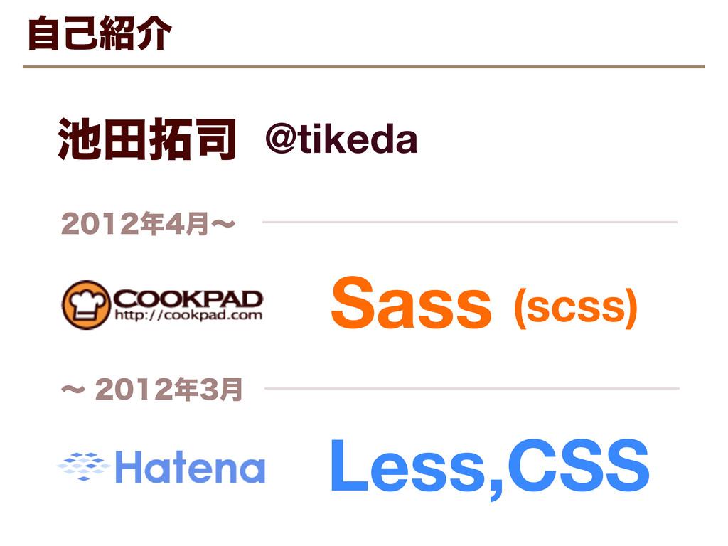 ࣗݾհ Sass Less,CSS ݄ʙ ʙ݄ ా @tik...