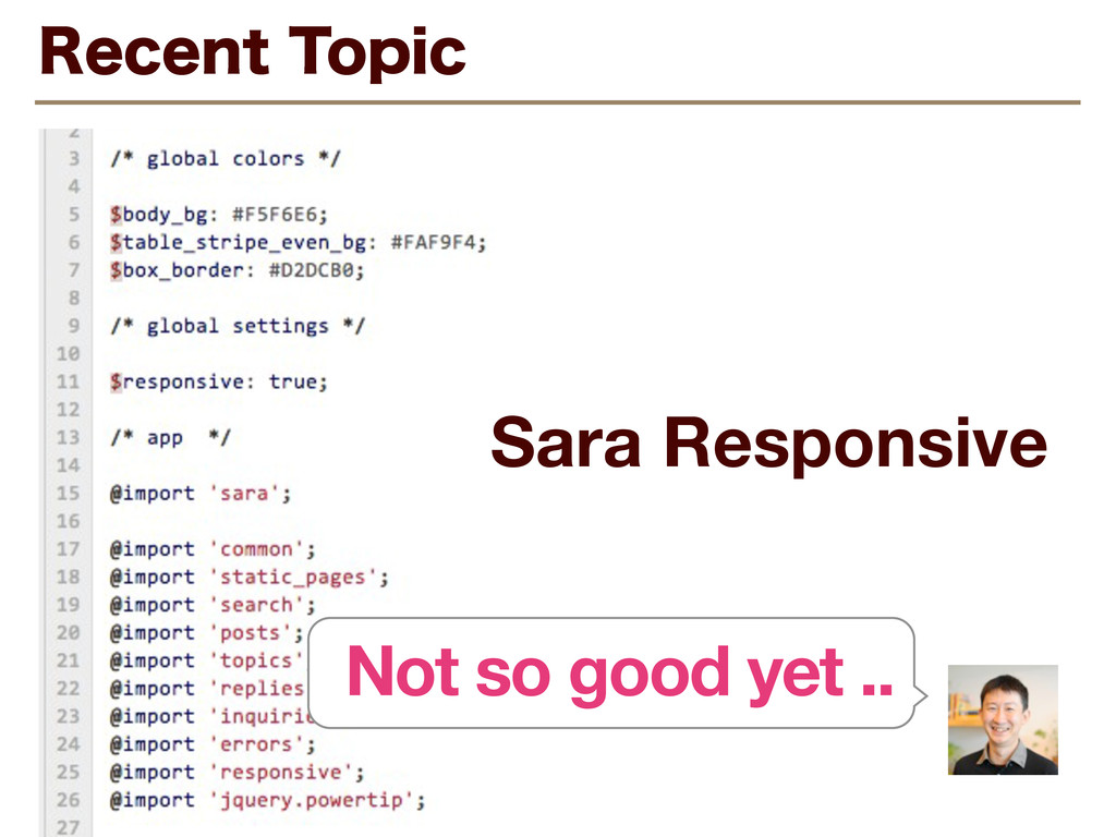 Sara Responsive 3FDFOU5PQJD Not so good yet ..