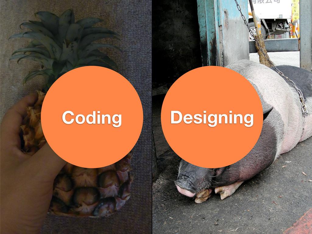 Coding Designing