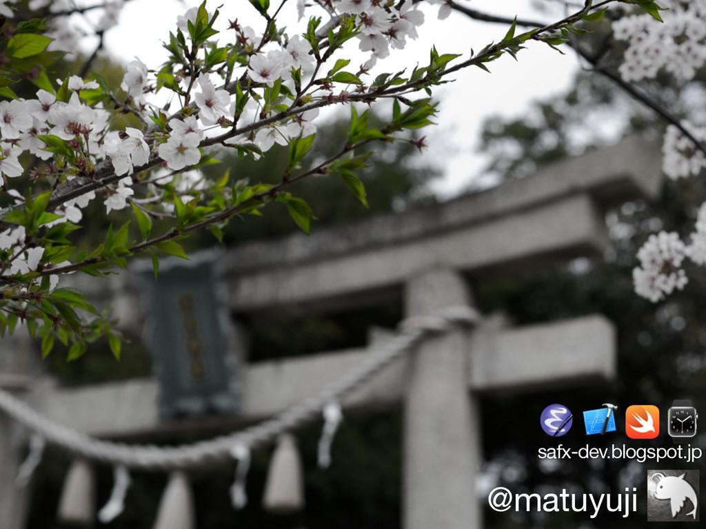@matuyuji safx-dev.blogspot.jp ⌚