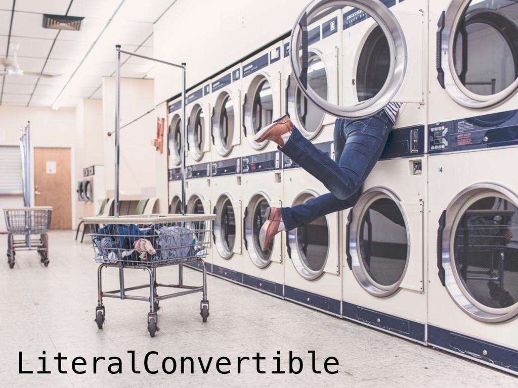 LiteralConvertible