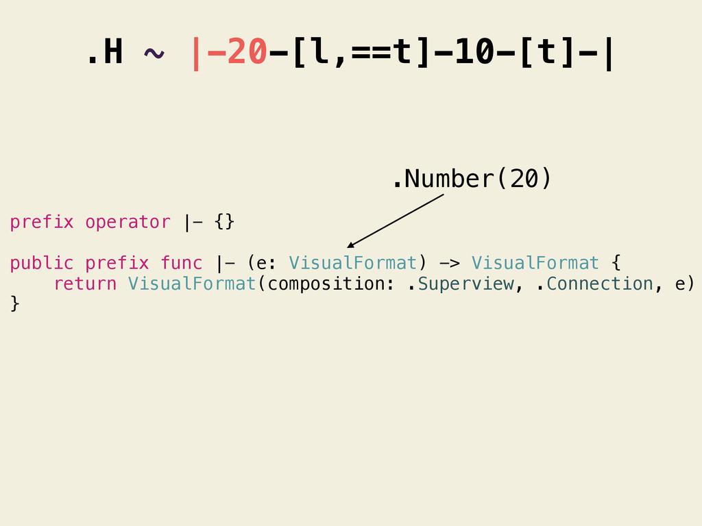 prefix operator |- {} public prefix func |- (e:...