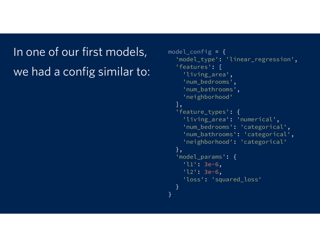 model_config = { 'model_type': 'linear_regressi...