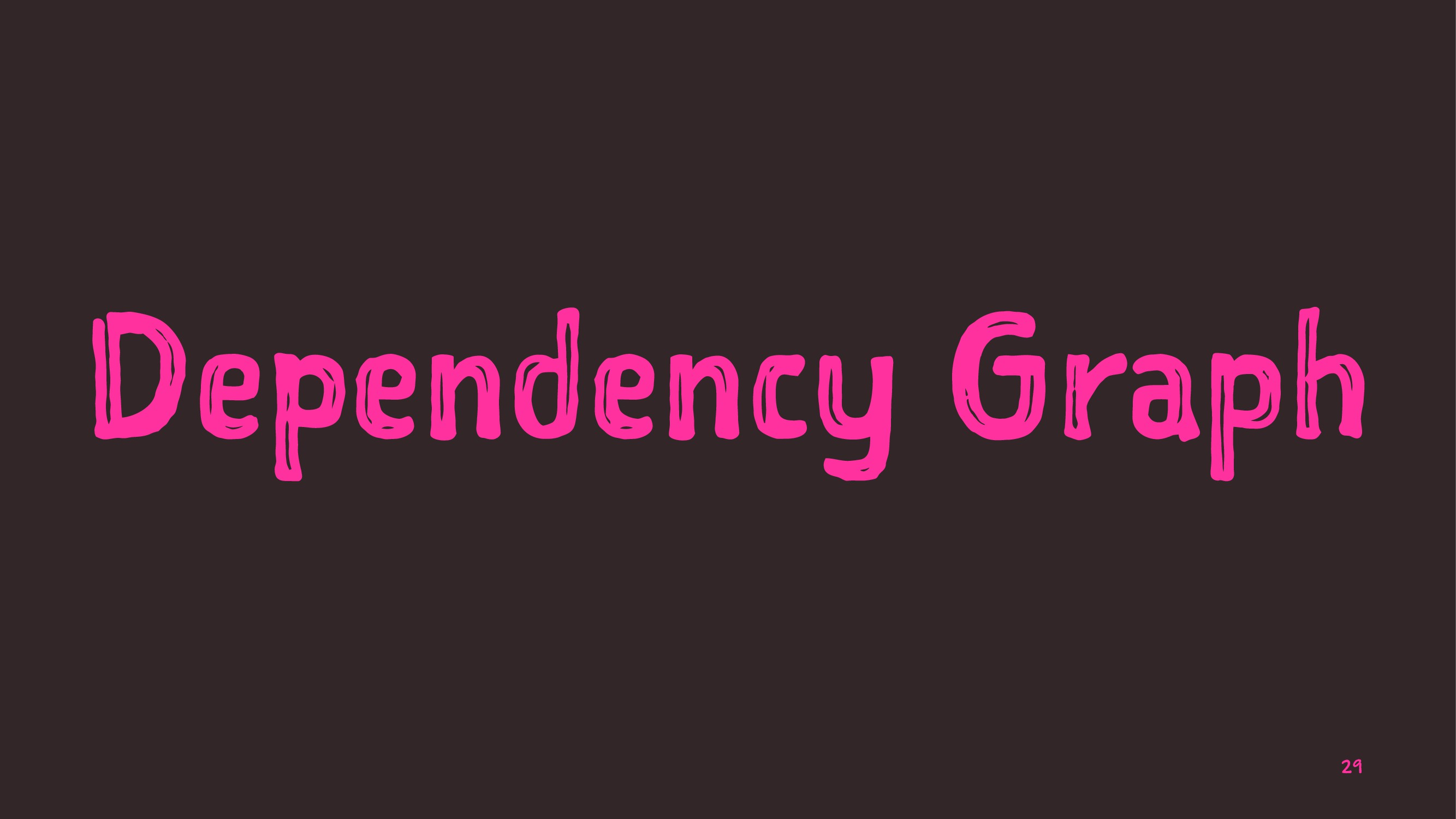 Dependency Graph 29