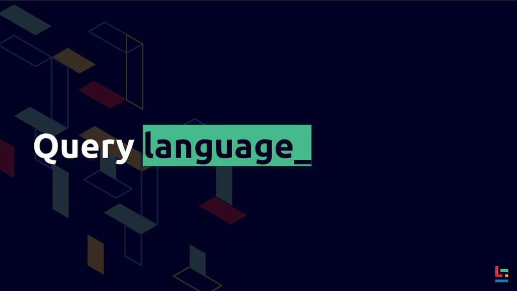 Query language_