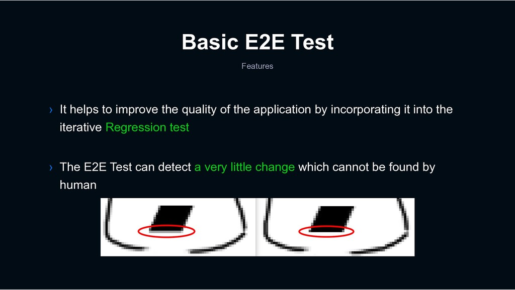 Basic E2E Test Features › The E2E Test can dete...
