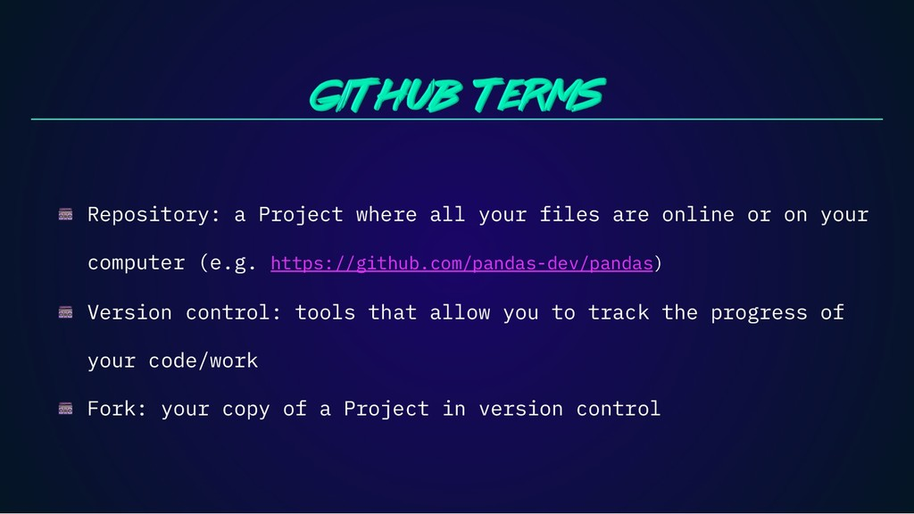 Repository: a Project where all your files are ...