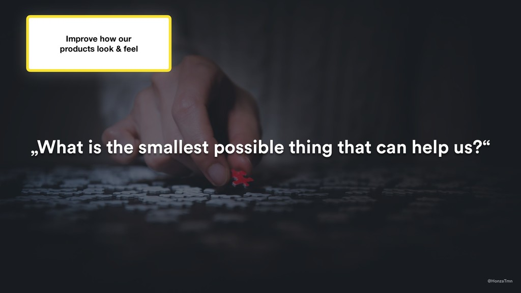 """@HonzaTmn """"What is the smallest possible thing ..."""