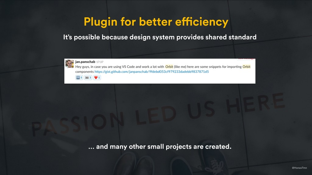 @HonzaTmn Plugin for better efficiency It's pos...