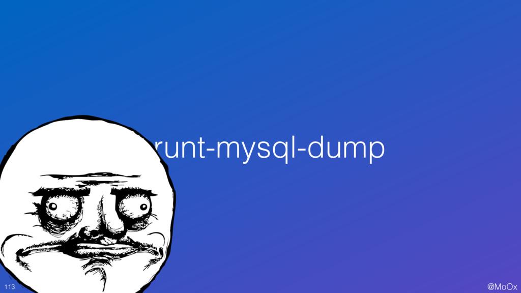 @MoOx grunt-mysql-dump 113