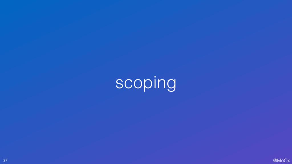 @MoOx scoping 37