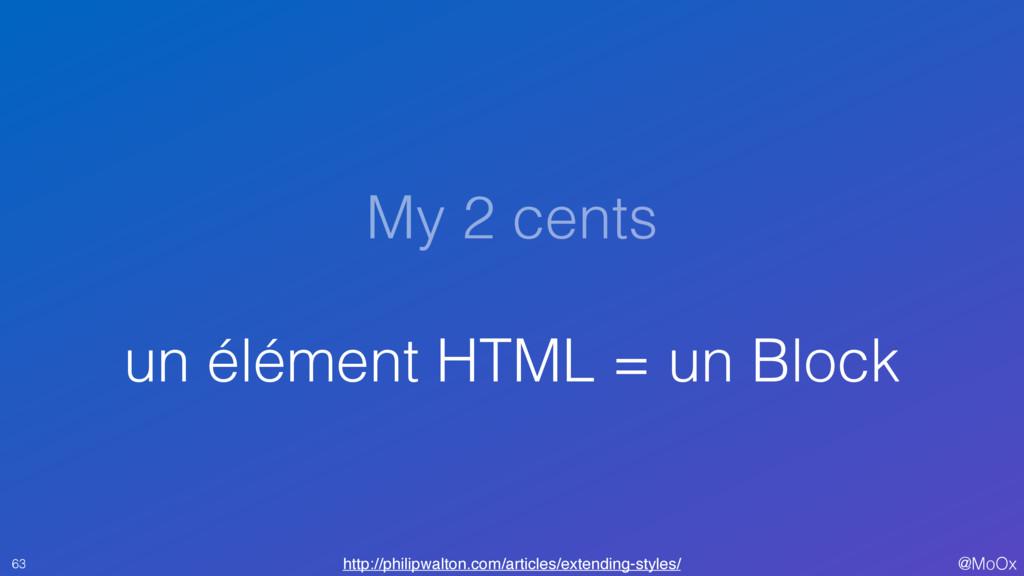 @MoOx My 2 cents un élément HTML = un Block 63 ...