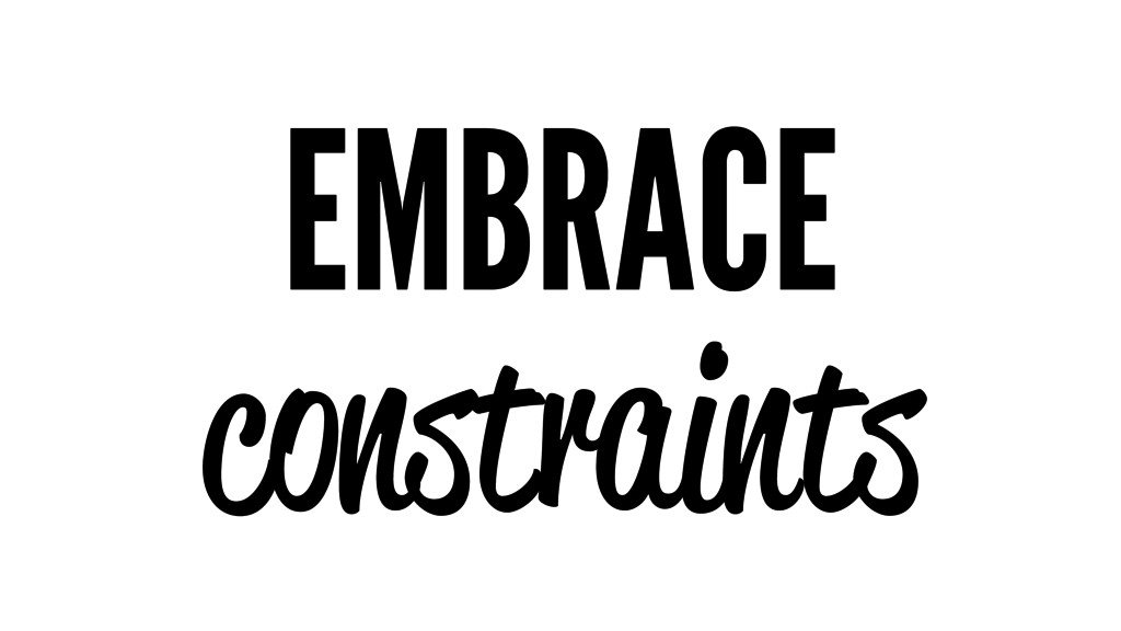EMBRACE constraints