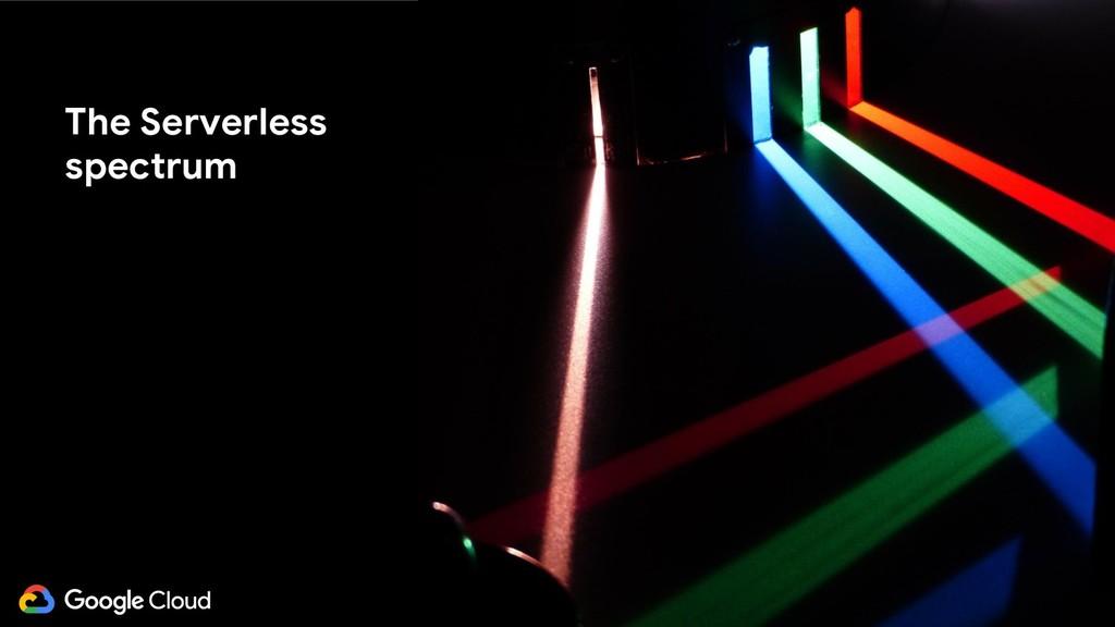 @glaforge The Serverless spectrum