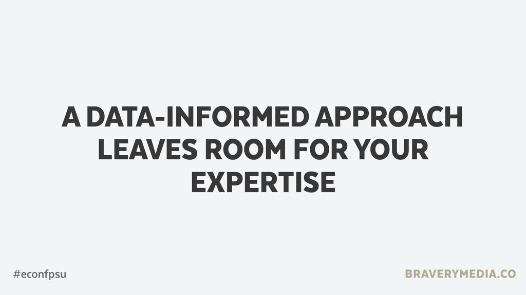 BRAVERYMEDIA.CO A DATA-INFORMED APPROACH LEAVES...