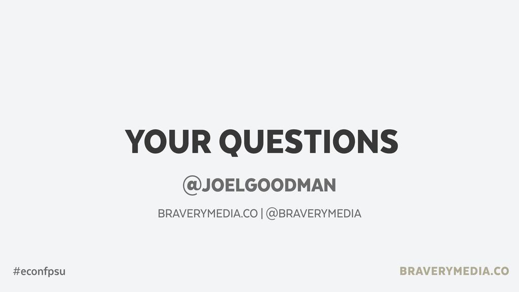 BRAVERYMEDIA.CO YOUR QUESTIONS @JOELGOODMAN BRA...
