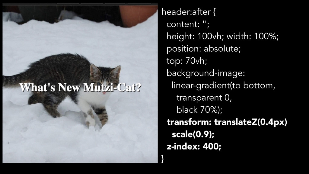 header:after { content: ''; height: 100vh; widt...