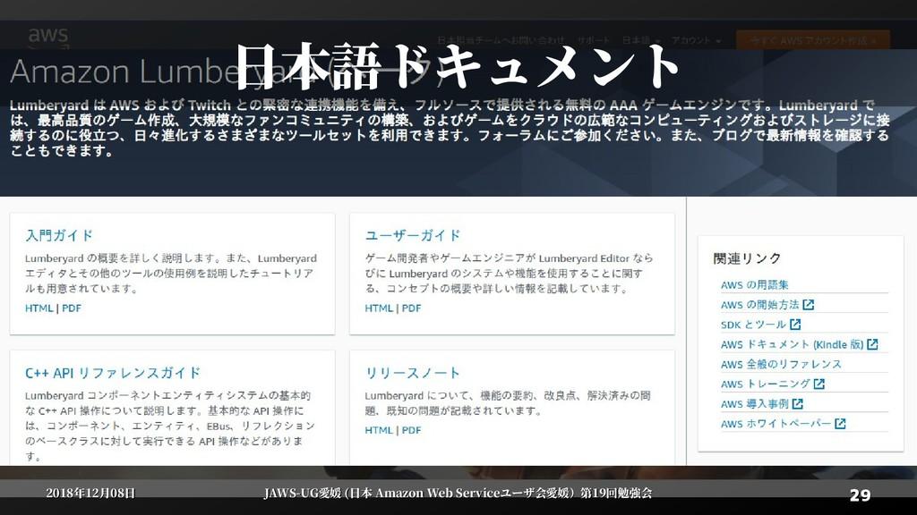 29 29 2018年12月08日 2018年12月08日 JAWS-UG愛媛 (日本 Ama...