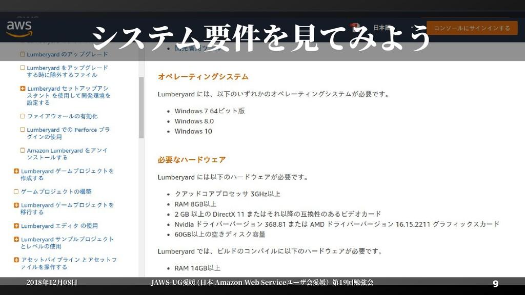9 9 2018年12月08日 2018年12月08日 JAWS-UG愛媛 (日本 Amazo...