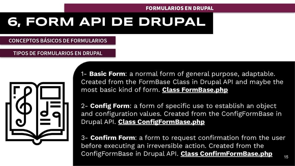 FORMULARIOS EN DRUPAL 6, FORM API DE DRUPAL CON...