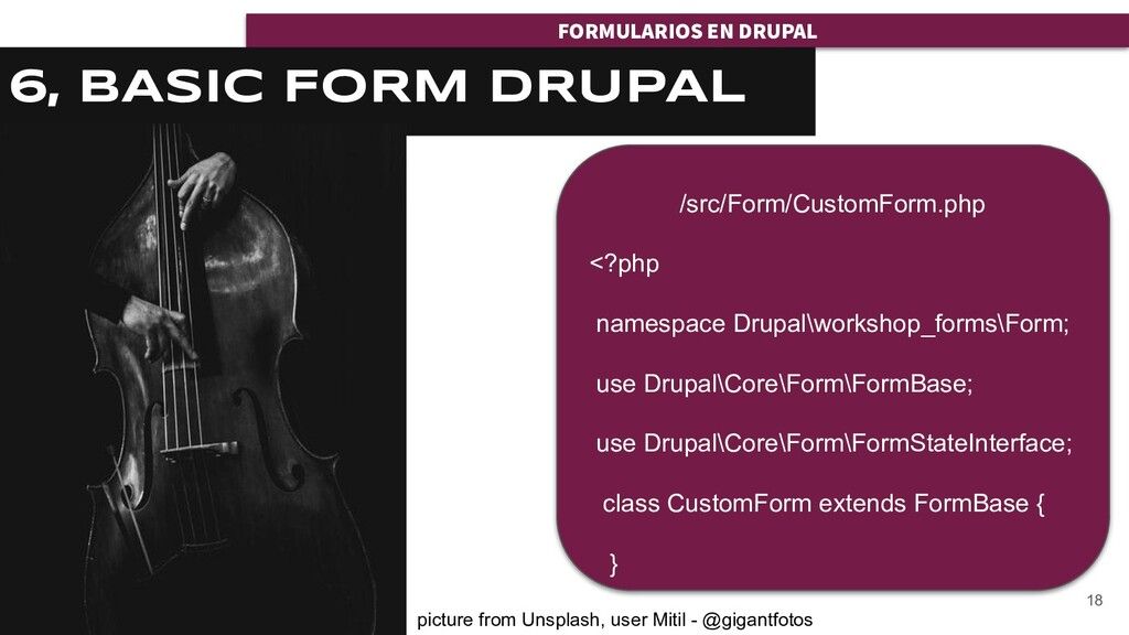 FORMULARIOS EN DRUPAL FORMULARIOS EN DRUPAL 6, ...