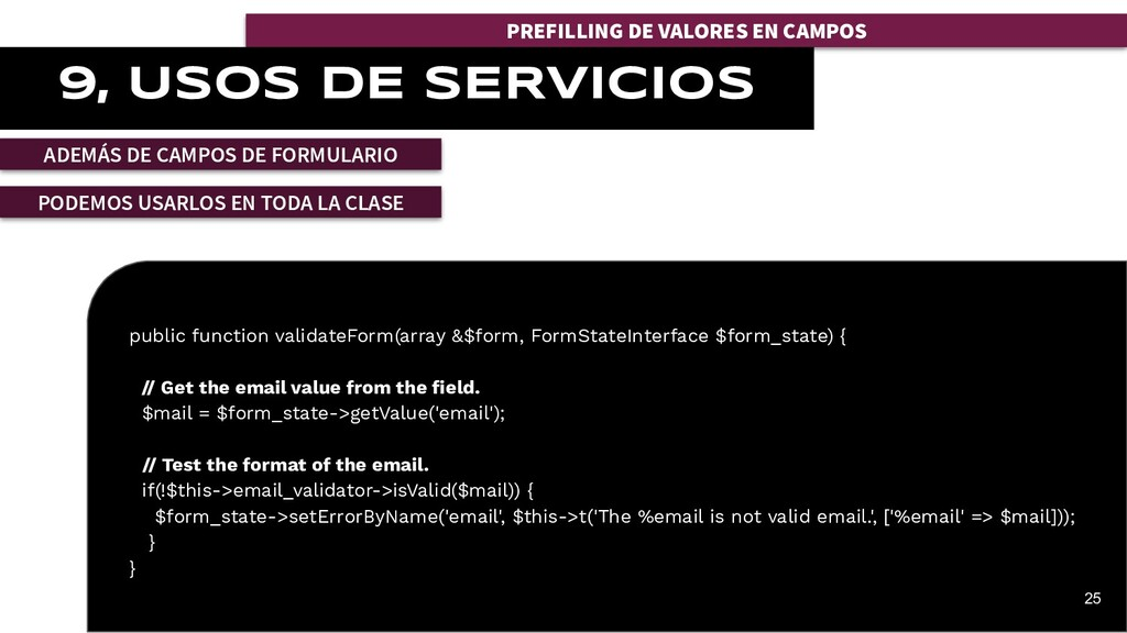 public function validateForm(array &$form, Form...