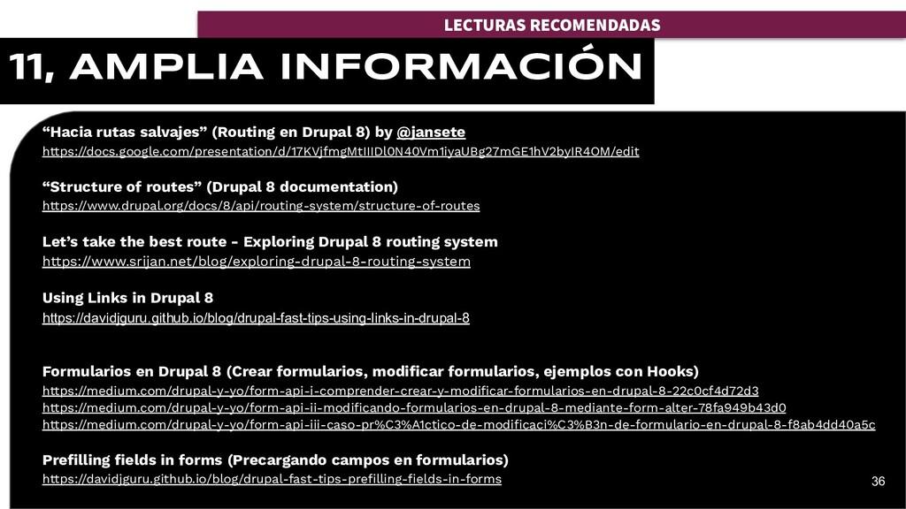 """""""Hacia rutas salvajes"""" (Routing en Drupal 8) by..."""