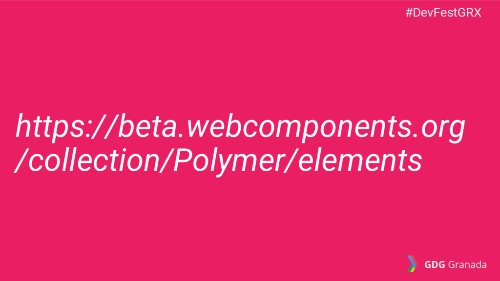 https://beta.webcomponents.org /collection/Poly...