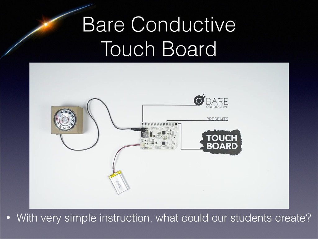 Bare Conductive Touch Board • With very simple ...