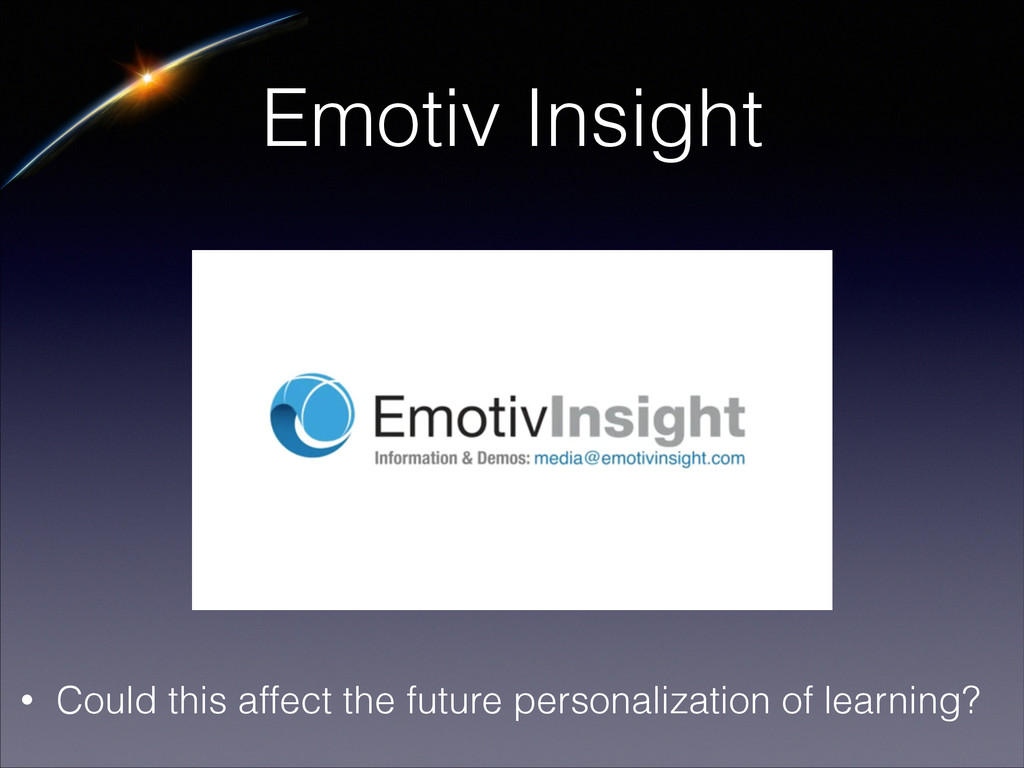 Emotiv Insight • Could this affect the future p...