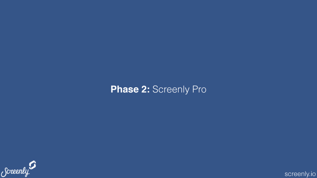screenly.io Phase 2: Screenly Pro