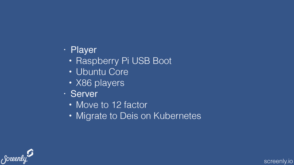 screenly.io • Player • Raspberry Pi USB Boot • ...
