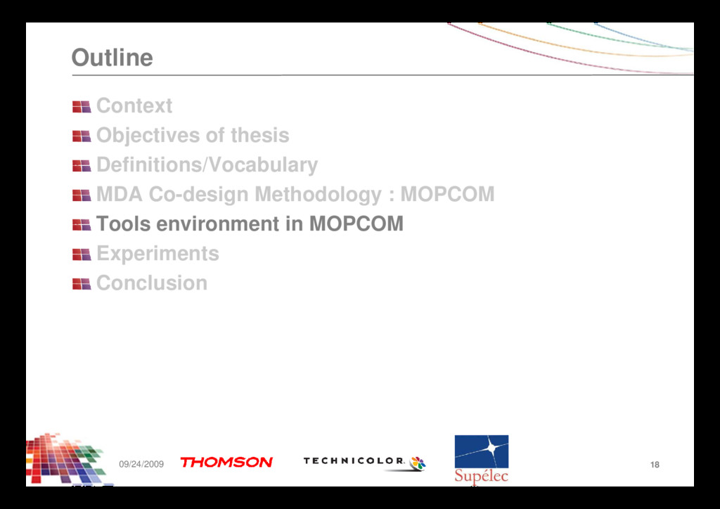 Outline Context Objectives of thesis Definition...