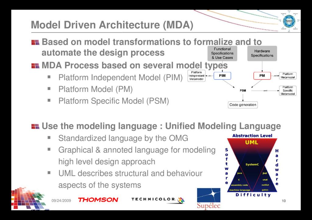 Model Driven Architecture (MDA) Based on model ...