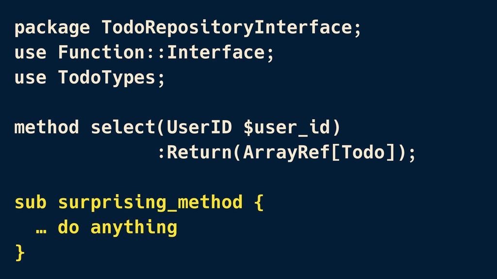 package TodoRepositoryInterface; use Function::...
