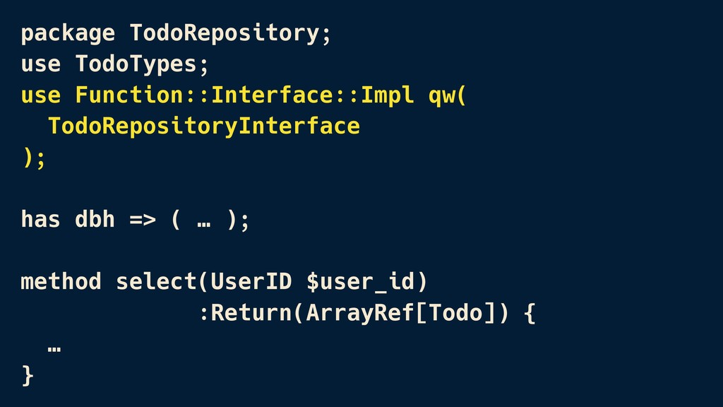 package TodoRepository; use TodoTypes; use Func...