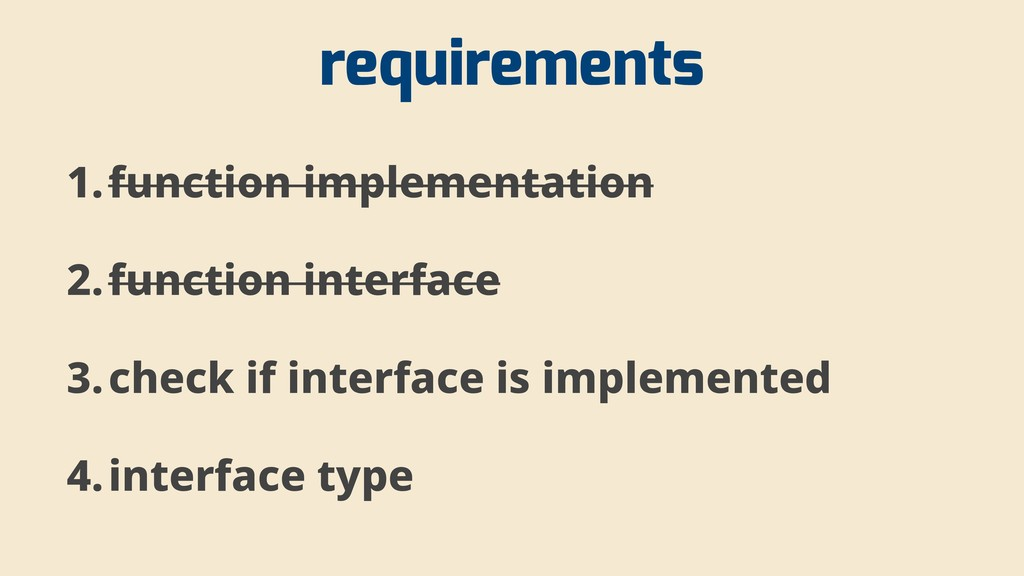 requirements 1.function implementation 2.functi...