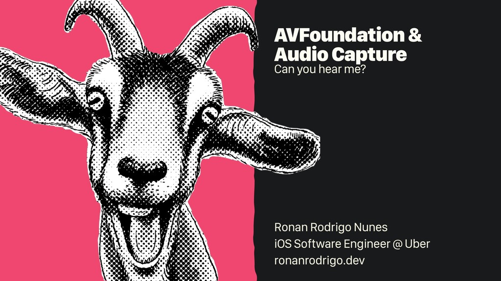 AVFoundation &   Audio Capture   Can you hear m...