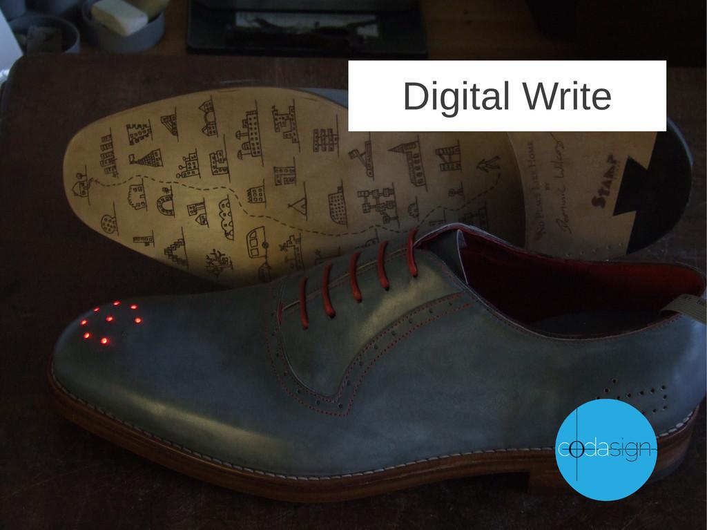 Digital Write