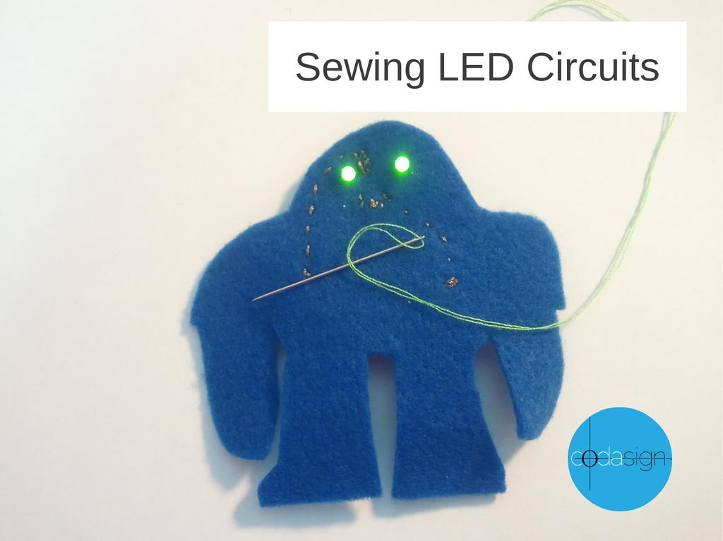 Sewing LED Circuits