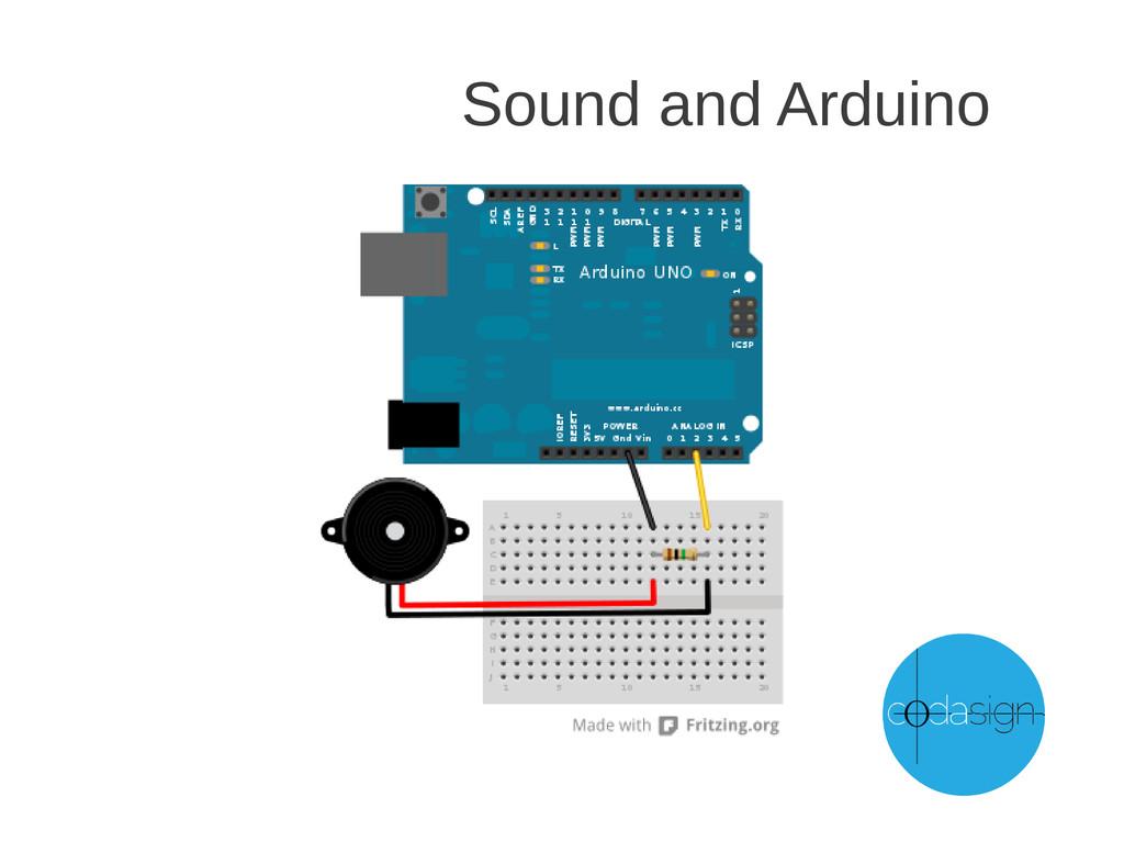Sound and Arduino