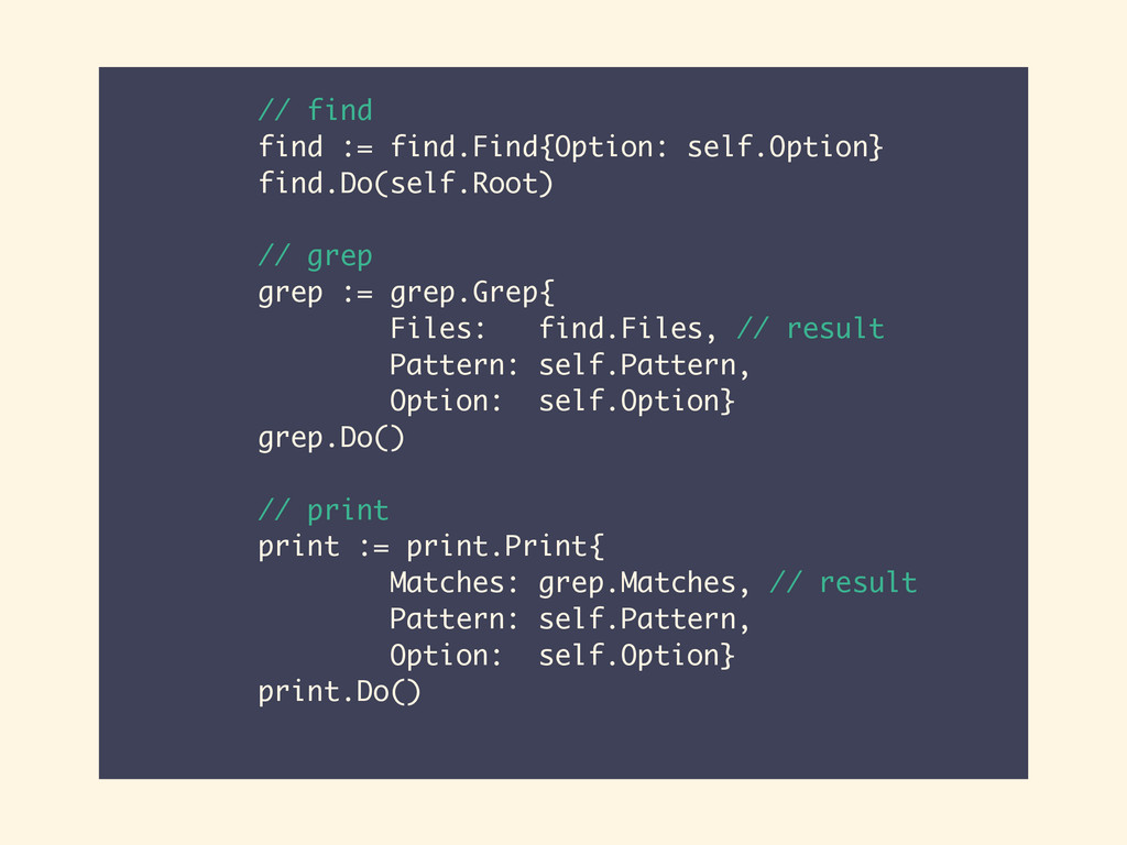 // find find := find.Find{Option: self.Option} ...