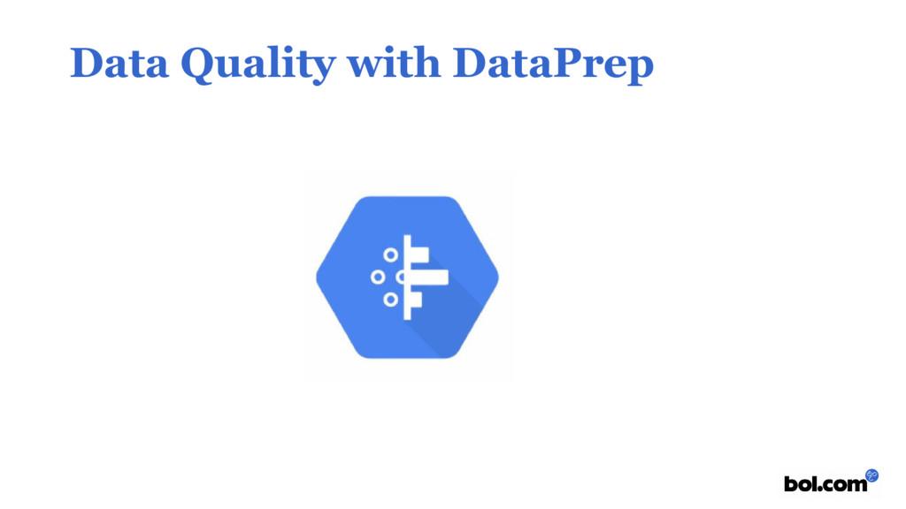 Data Quality with DataPrep