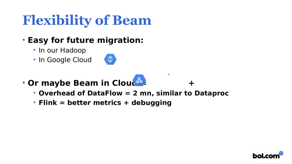 Flexibility of Beam • Easy for future migration...